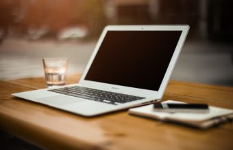 Blogging on a macbook air