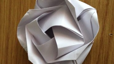 self limiting belief,origami rose,folded paper rose,