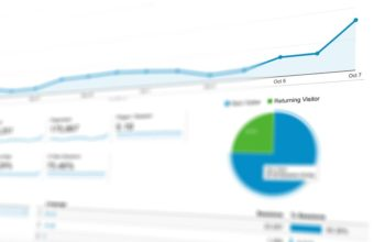 Website traffic analytics screen