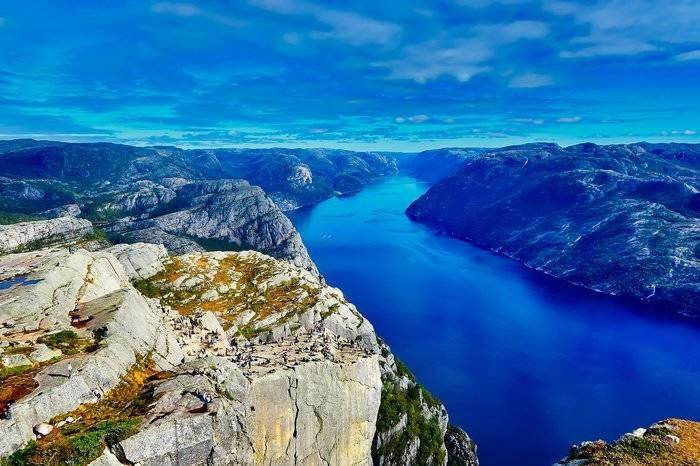 Norwegian Fjords Perfect GoPro Destination